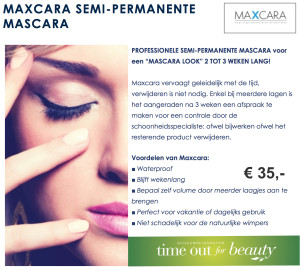 Semi-permanente make-up Maxcara