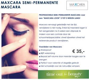 Semi-permanente make-up Maxcara